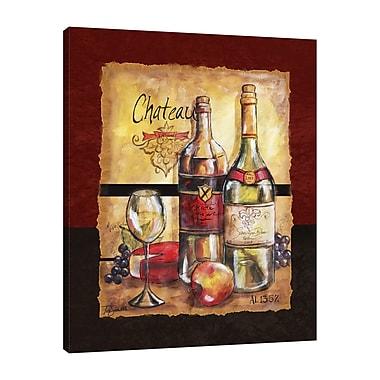 Fleur De Lis Living 'Chateau' Print on Wrapped Canvas; 45'' H x 36'' W