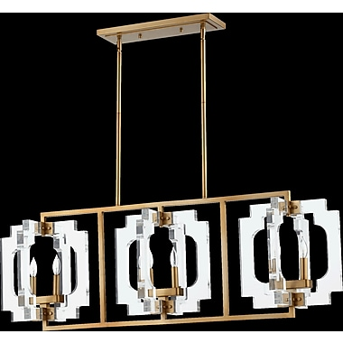 Everly Quinn Pavan 6-Light Kitchen Island Pendant