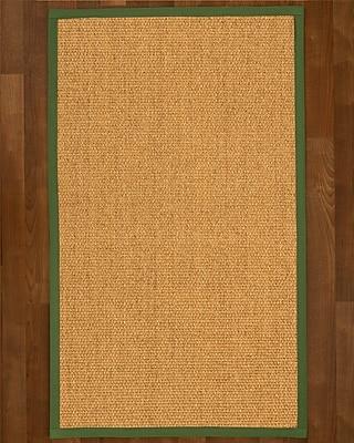Winston Porter Healey Sisal Green Area Rug; 8' X 10'
