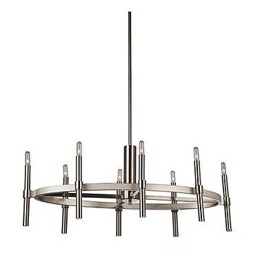 Brayden Studio Bushong 8-Light Candle-Style Chandelier; Oil Rubbed Bronze