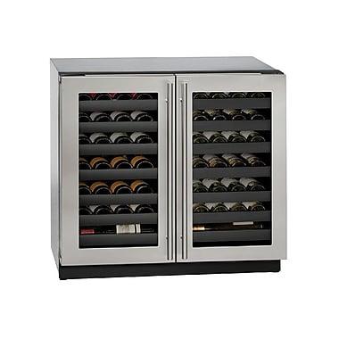 U-Line 62 Bottle 3000 Series Dual Zone Built-in Wine Cellar