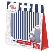 Handstand Kids Stripe-Set, Kids Apron, Mitt & Hat