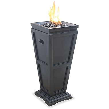 Blue Rhino Outdoor Fireplace Black/Steel (GLT1332SP)