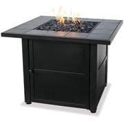 Blue Rhino Outdoor Fire Bowl With Slate Tile Mantel Black/Steel (GAD1399SP)