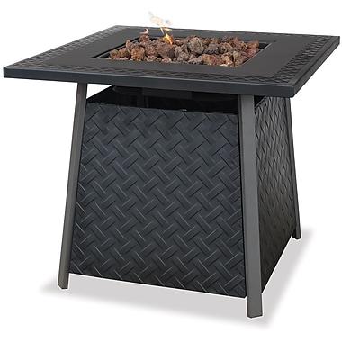 Blue Rhino Outdoor Fire Bowl With Steel Mantel Black/Steel (GAD1325SP)
