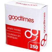 Goodtimes - Couteaux en plastique, paq./250
