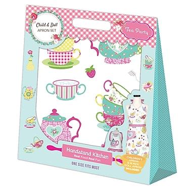 Handstand Kids Tea-Doll, Kids Tea Party Design Apron