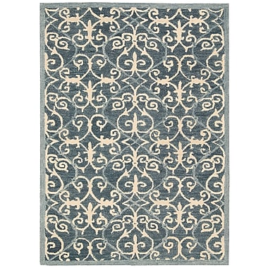 Fleur De Lis Living Tracie Hand-Tufted Denim Area Rug; 8' x 10'6''