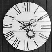 17 Stories Amr Oversized 30'' Wall Clock