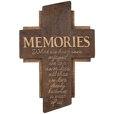 Winston Porter 14'' Memories Cross Wall D cor