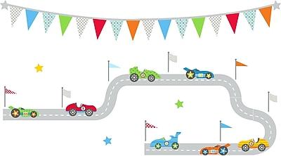 WallPops! Race Car Superstar Art Kit Wall Decal