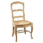 AA Importing Evelyn Solid Wood Dining Chair