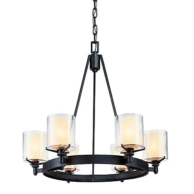 Darby Home Co Stuart 6-Light Candle-Style Chandelier