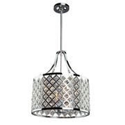Everly Quinn Umeaz 3-Light Metal Drum Pendant