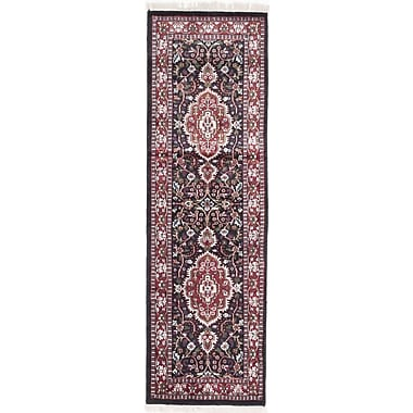 Bloomsbury Market Orangetree Hand-Knotted Beige/Red Area Rug