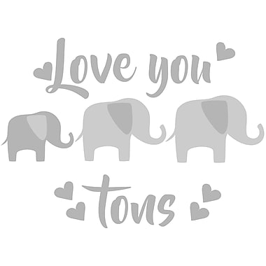 WallPops! Love You Tons Quote Wall Decal
