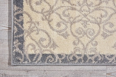 Charlton Home Coulston Ivory Indoor Area Rug; Rectangle 3'2'' x 4'7''