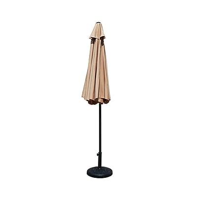 Darby Home Co Carpenter Market Umbrella; No Tilt