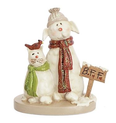 The Holiday Aisle Snow Wonder B.F.F. Figurine