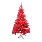 The Holiday Aisle 5' Red Pine Artificial Christmas Tree w/ Metal Stand