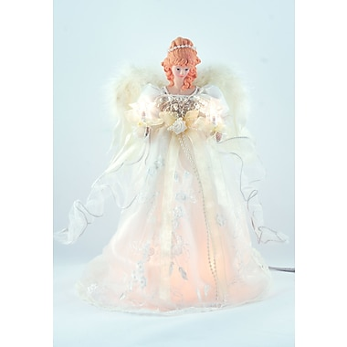 The Holiday Aisle Ivory Angel Tree Topper