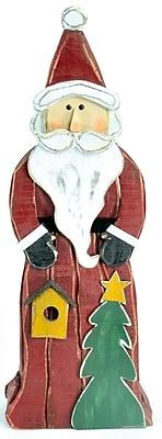 The Holiday Aisle Wooden Santa