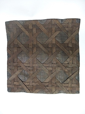 Williston Forge Candace Linen Pillow Cover; Brown
