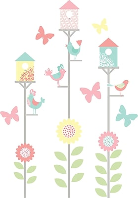 WallPops! Spring Fling Art Kit Wall Decal