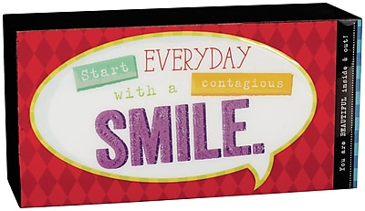Winston Porter Henrich Smile Decorative Plaque