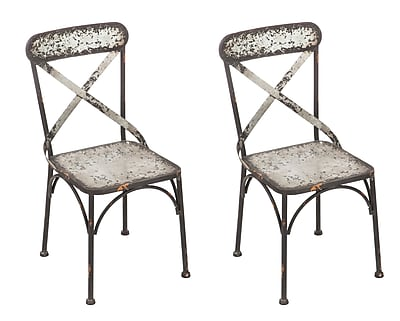 Gracie Oaks Luong Patio Dining Chair (Set of 2)