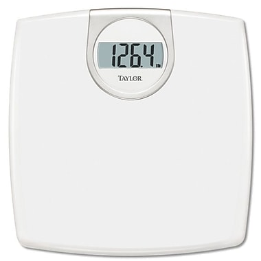 Taylor White Lithium Digital Bath Scale
