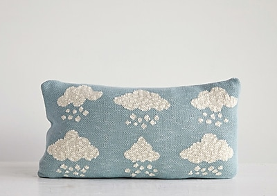Harriet Bee Linette Cloud 100pct Cotton Throw Pillow