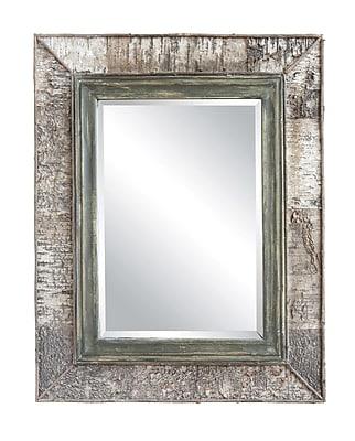 Loon Peak Franklin Wood Frame Accent Mirror