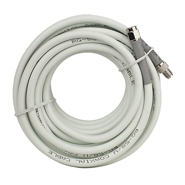 weBoost 20 ft. RG58 Low Loss Foam Coax Cable (SMA Male - SMA Female), White (955823)