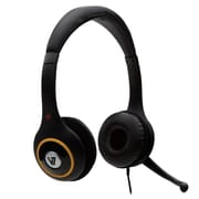 V7 – Casque d'écoute USB numérique avec microphone à annulation de bruit, noir (U511-2NP)