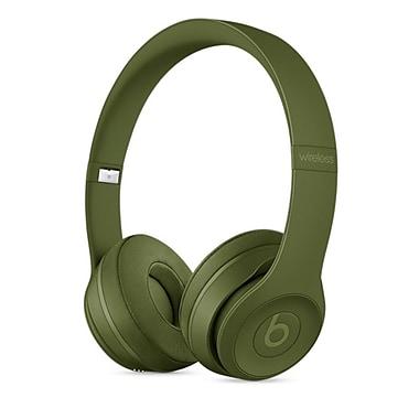 Beats – Casque d'écoute supra-auriculaire Solo3 sans fil, vert Turf (MPXK2LL/A)