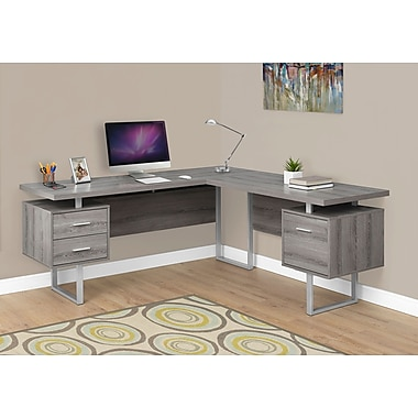 Monarch Specialties Left Or Right Facing Computer Desk I 7304