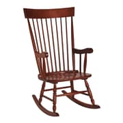 Darby Home Co Rocking Chair; Cherry