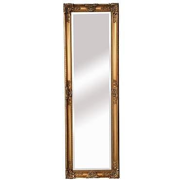 Astoria Grand Beaston Full Length Mirror; Antique gold