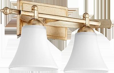 Alcott Hill Eastchester Traditional 2-Light Vanity Light