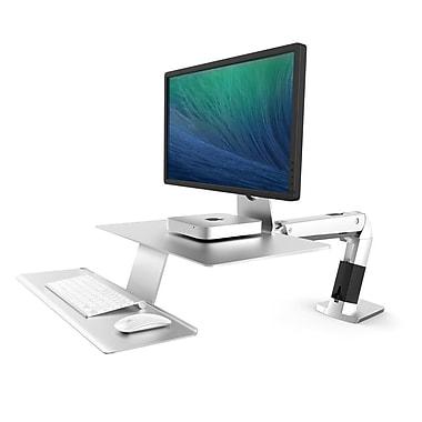 Ergotron WorkFit-A with Suspended Keyboard, Platinum (24-422-227)