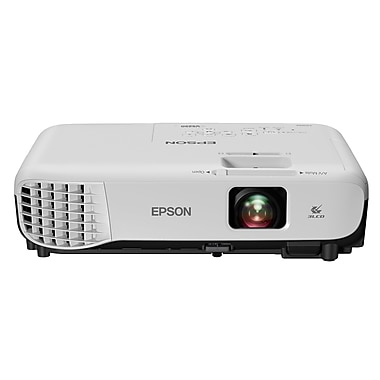Epson VS250 SVGA 3LCD Projector, White