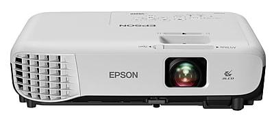 Epson VS250 SVGA 3LCD Projector, White