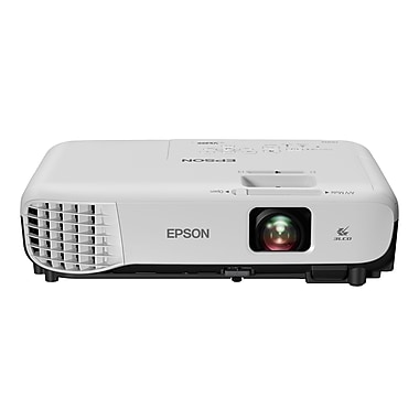 Epson VS355 WXGA 3LCD Projector, White