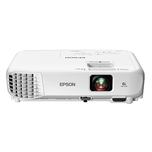 Epson Home Cinema 760HD 720p 3LCD Projector, White