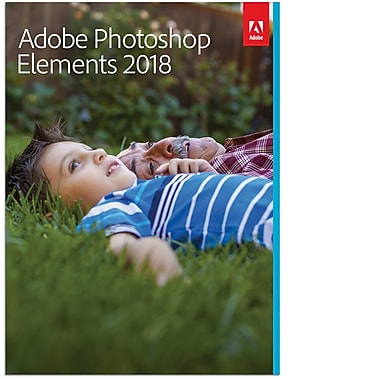 Adobe® – Logiciel Photoshop Elements 2018, Windows [téléchargement]