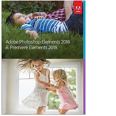 Adobe Photoshop Elements 2018 & Premiere Elements 2018, French Canadian [Download]