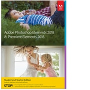 Adobe – Photoshop Elements 2018 & Premiere Elements 2018, version Étudiants et enseignants, Windows [téléchargement]