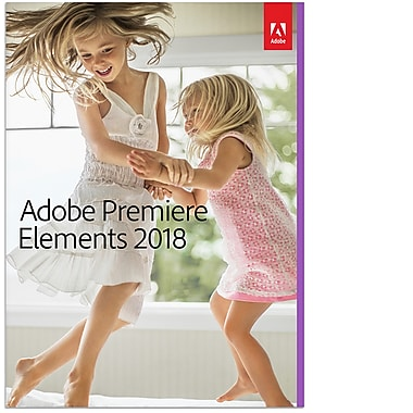 Adobe Premiere Elements 2018, French Canadian [Download]