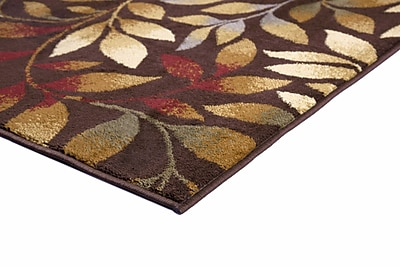 Alcott Hill Eastford Brown 9 ft. 3 in. x 12 ft. 6 in. Transitional Area Rug